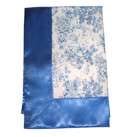 Toile Cotton Receiving Blanket