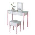 Vanity Table and Stool