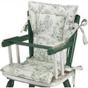 Country Style High Chair Cushions
