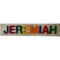 Jeremiah Primary Name Puzzle
