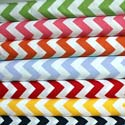 Chevron Zigzag Cotton Porta Crib Sheet
