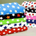 Primary Stars Cotton Porta Crib Sheet